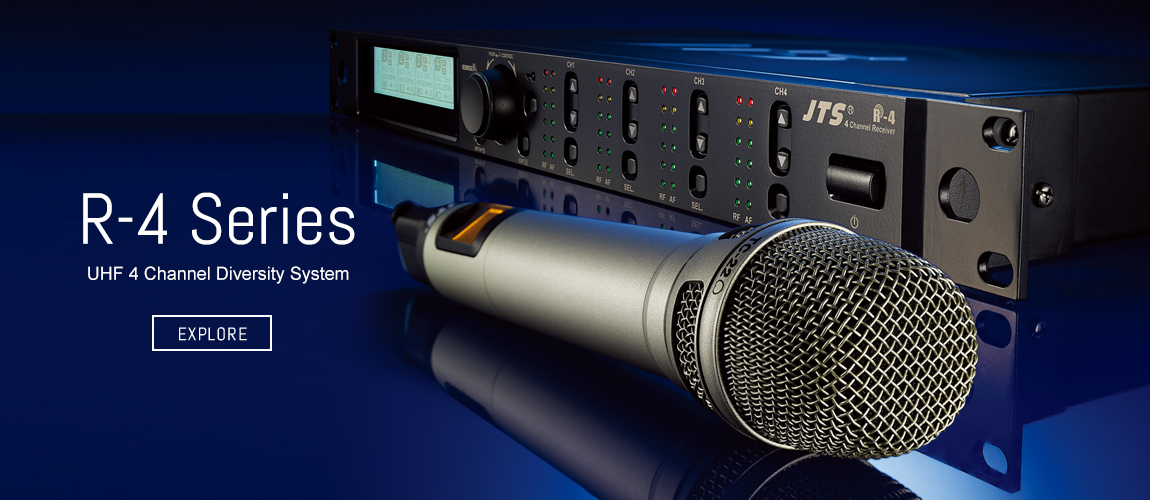JTS - Professional Wideband True Diversity Wireless